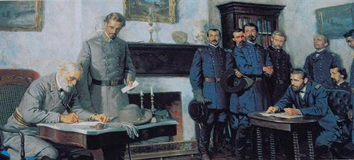 General Robert E. Lee's surrender greg bustin executive leadership blog