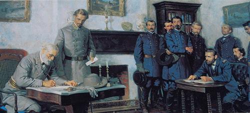 General Robert E. Lee's surrender greg bustin executive leadership blog