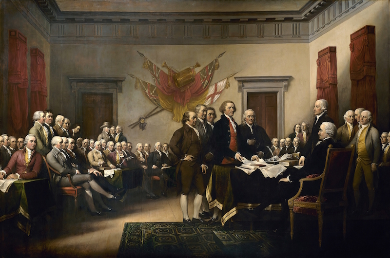 signing of the declaration of independence, greg bustin, executive leadership blog, summer of 1776, planning the future of an independent nation