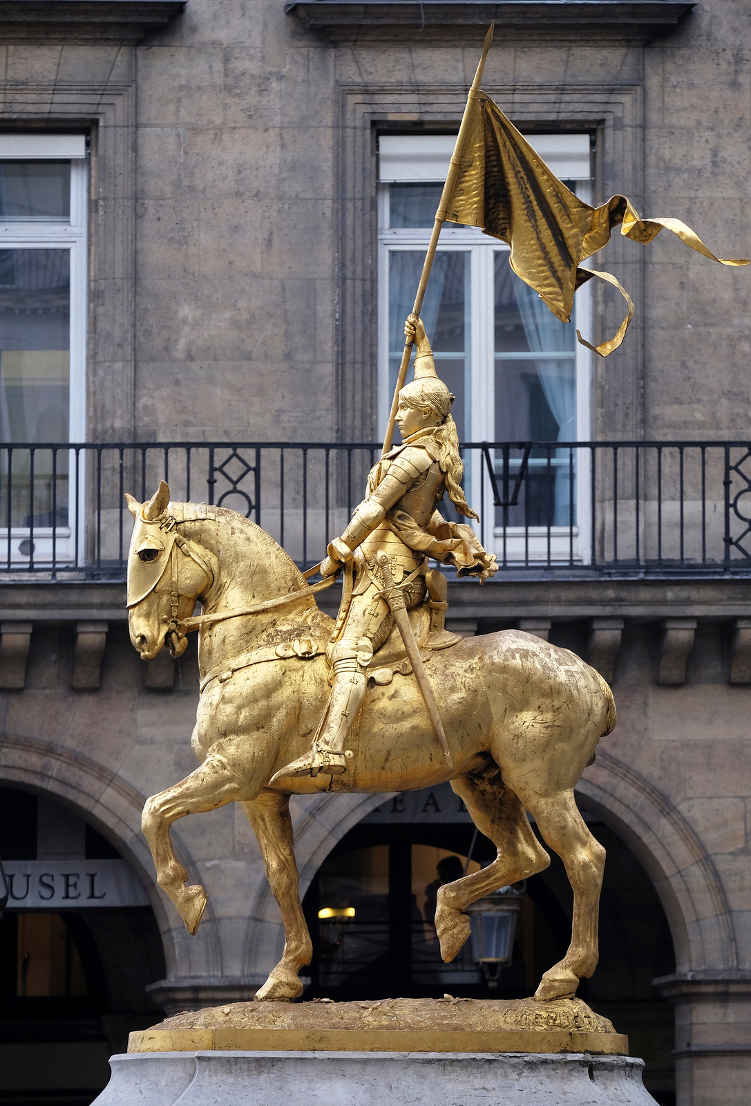Joan of Arc Statue in Paris, France