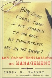How Come Every Time I Get Stabbed in the Back My Fingerprints Are On the Knife