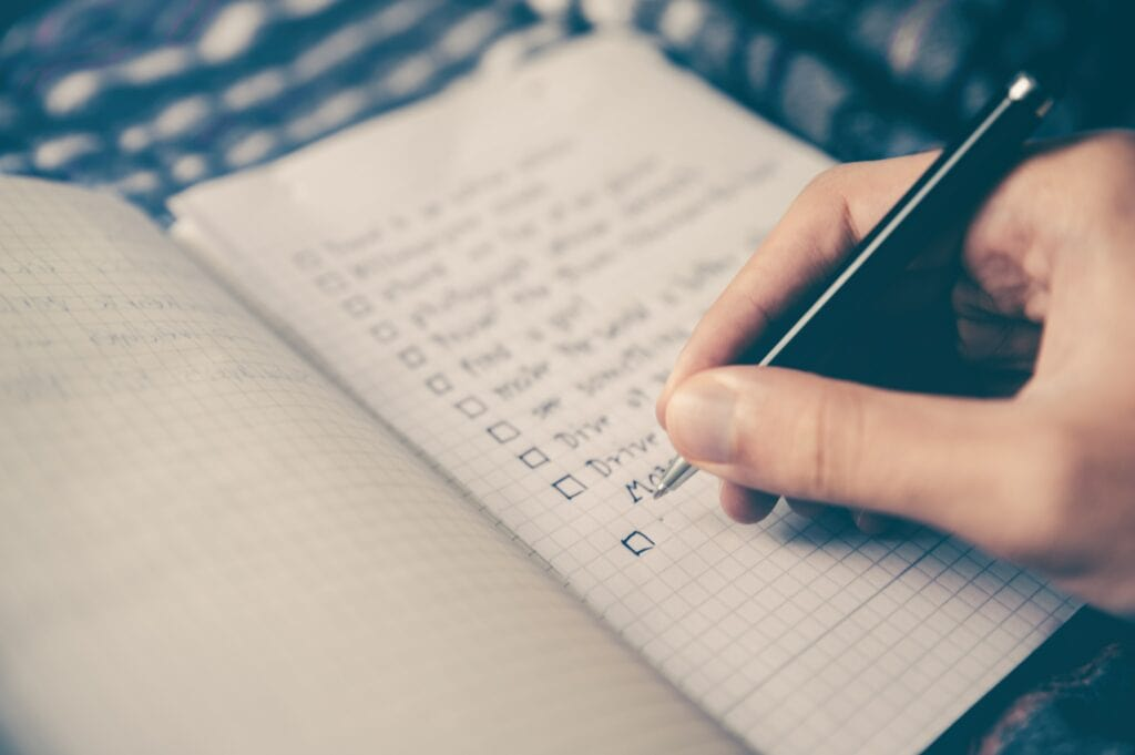 mental checklist for leaders
